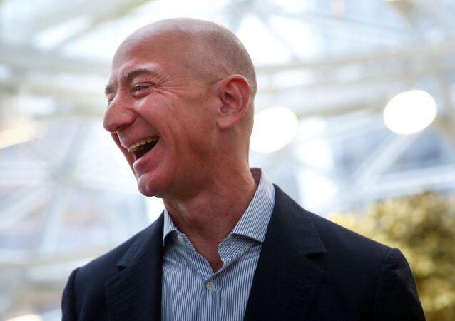 Jeff Bezos, fundador de Amazon (archivo)