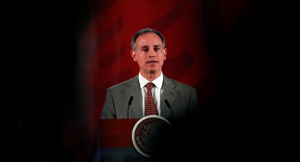Subsecretario de Prevención y Promoción de la Salud de México, Hugo Lopez-Gatell Ramirez