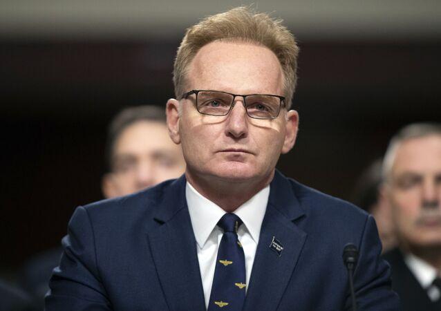 Thomas Modly, secretario interino de la Armada de EEUU