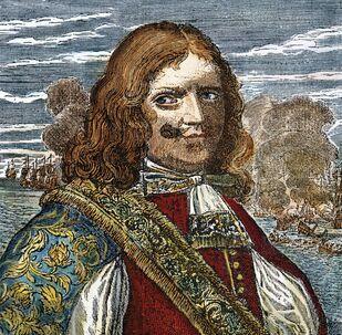 Henry Morgan, pirata británico del siglo XVII