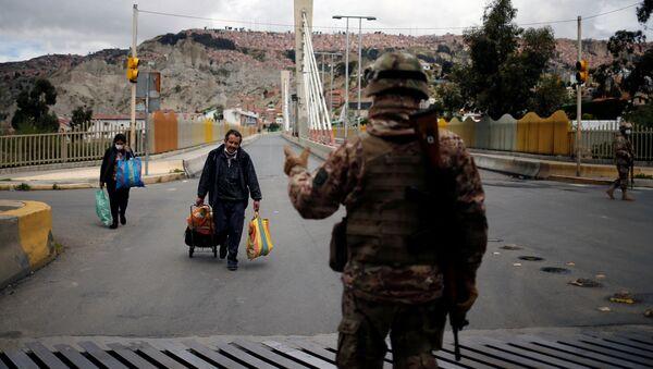 Militares de Bolivia (Archivo) - Sputnik Mundo
