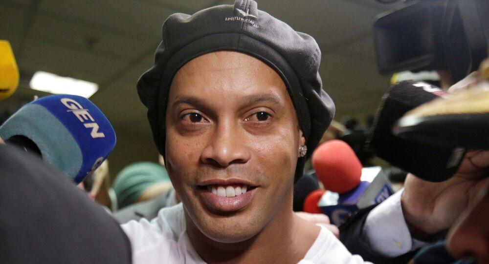 Ronaldinho, exfutbolista brasileño