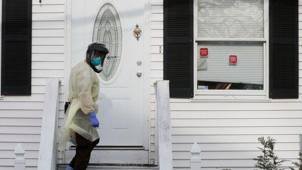 Situación en Massachusetts, EEUU, durante la pandemia de COVID-19 - Sputnik Mundo