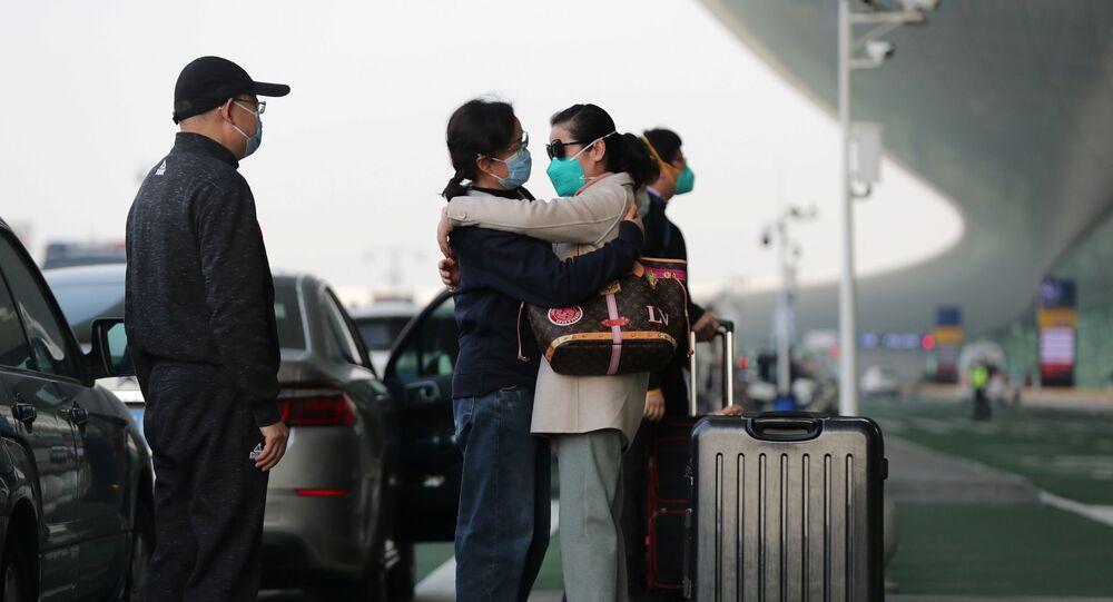 Residentes de Wuhan