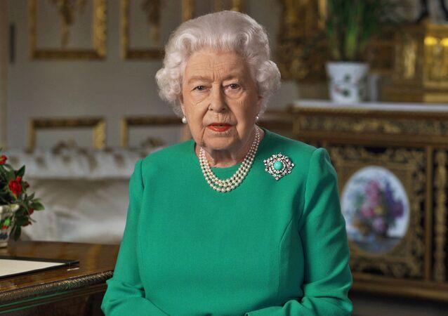 Isabel II, la reina británica
