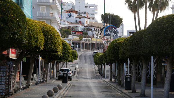 Calles vacías de España debido al coronavirus - Sputnik Mundo