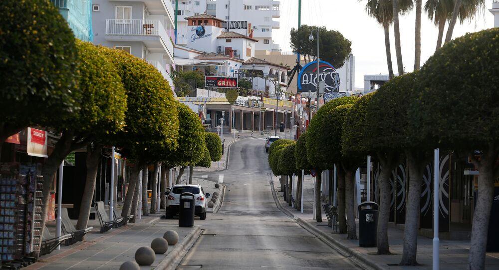 Calles vacías de España debido al coronavirus