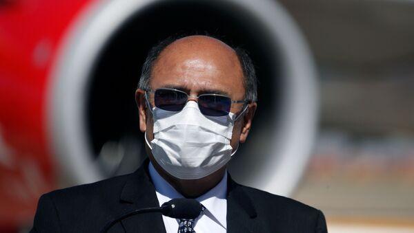 Aníbal Cruz, ministro de Salud de Bolivia - Sputnik Mundo