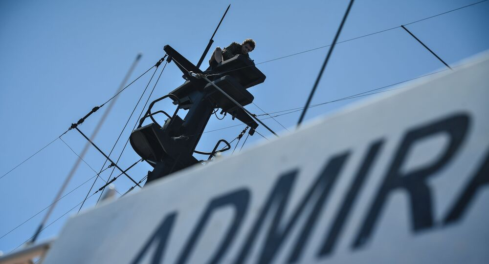 El buque Almirante Vladímirski
