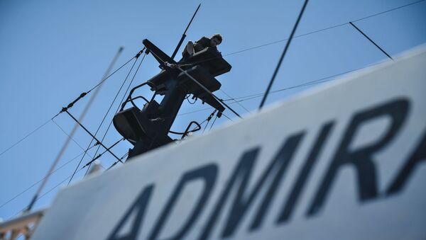 El buque Almirante Vladímirski - Sputnik Mundo