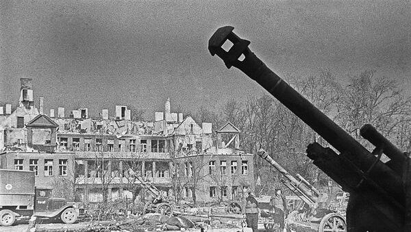 Ruinas de Konigsberg después de la batalla - Sputnik Mundo