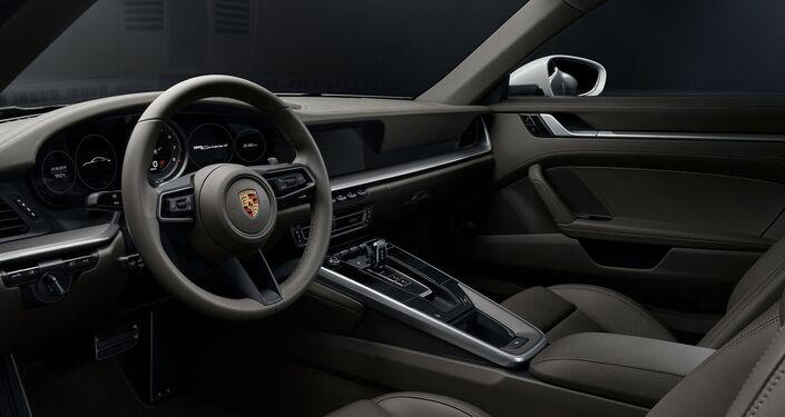 Interior de vehículo Porsche
