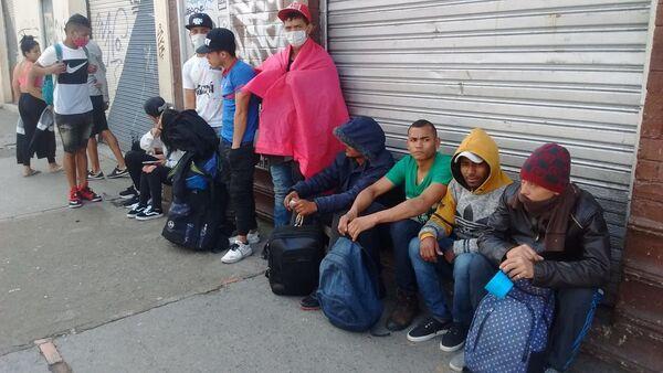 Venezolanos en Colombia  - Sputnik Mundo