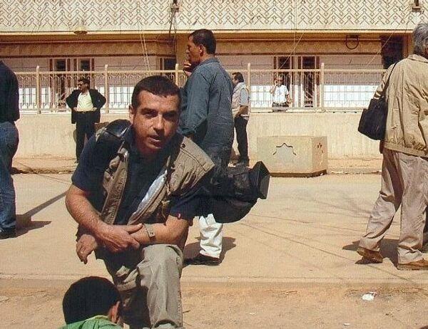 José Couso, camarógrafo español asesinado en Irak - Sputnik Mundo