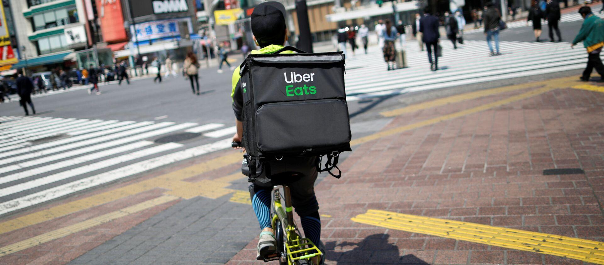 Uber Eats en Japón - Sputnik Mundo, 1920, 09.04.2020