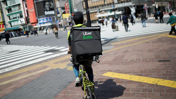 Uber Eats en Japón - Sputnik Mundo