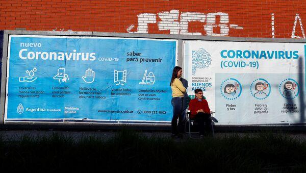 El coronavirus en Argentina - Sputnik Mundo