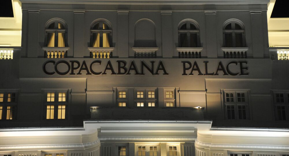Hotel Copacabana Palace, Río de Janeiro, Brasil