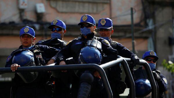 Policía mexicana (imagen referencial) - Sputnik Mundo