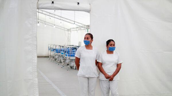 Personal médico en México durante la pandemia - Sputnik Mundo
