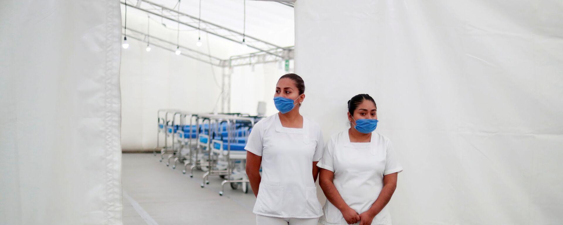 Personal médico en México durante la pandemia - Sputnik Mundo, 1920, 10.04.2020