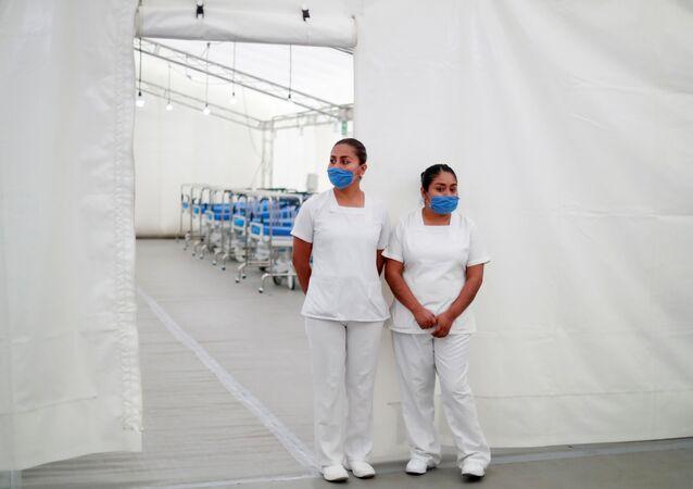 Personal médico en México durante la pandemia