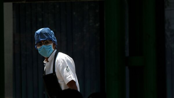 Una médico en México - Sputnik Mundo