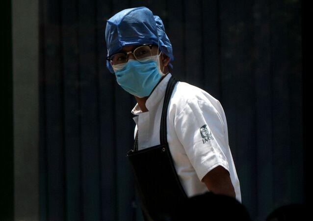 Una médico en México