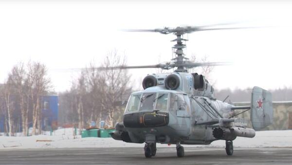 Un Ka-29 de la Armada de Rusia - Sputnik Mundo