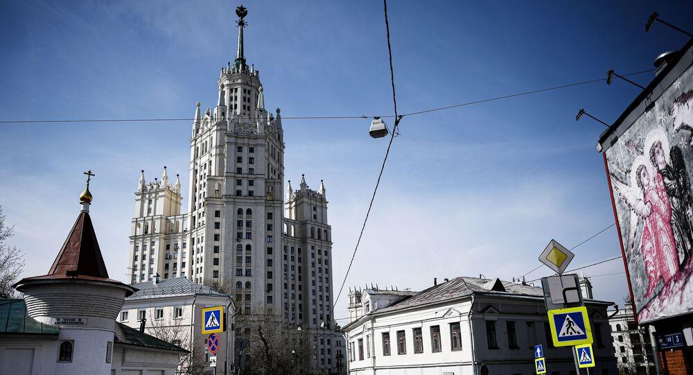 Las calles vacías de Moscú