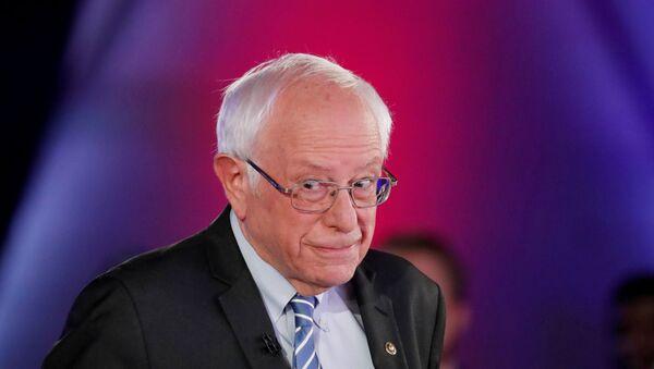 Bernie Sanders, excandidato demócrata a la Presidencia de EEUU  - Sputnik Mundo