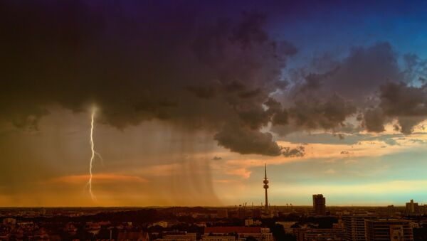 Tiempo atmosférico (imagen referencial) - Sputnik Mundo