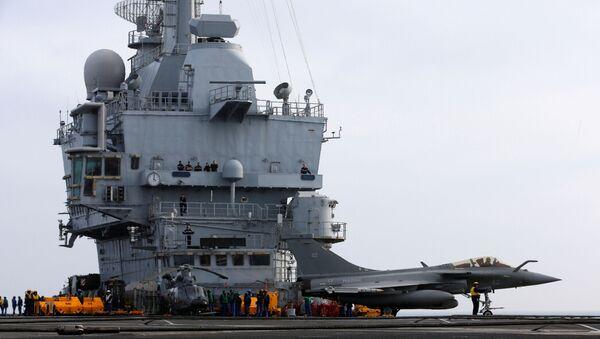 El portaviones francés Charles de Gaulle - Sputnik Mundo