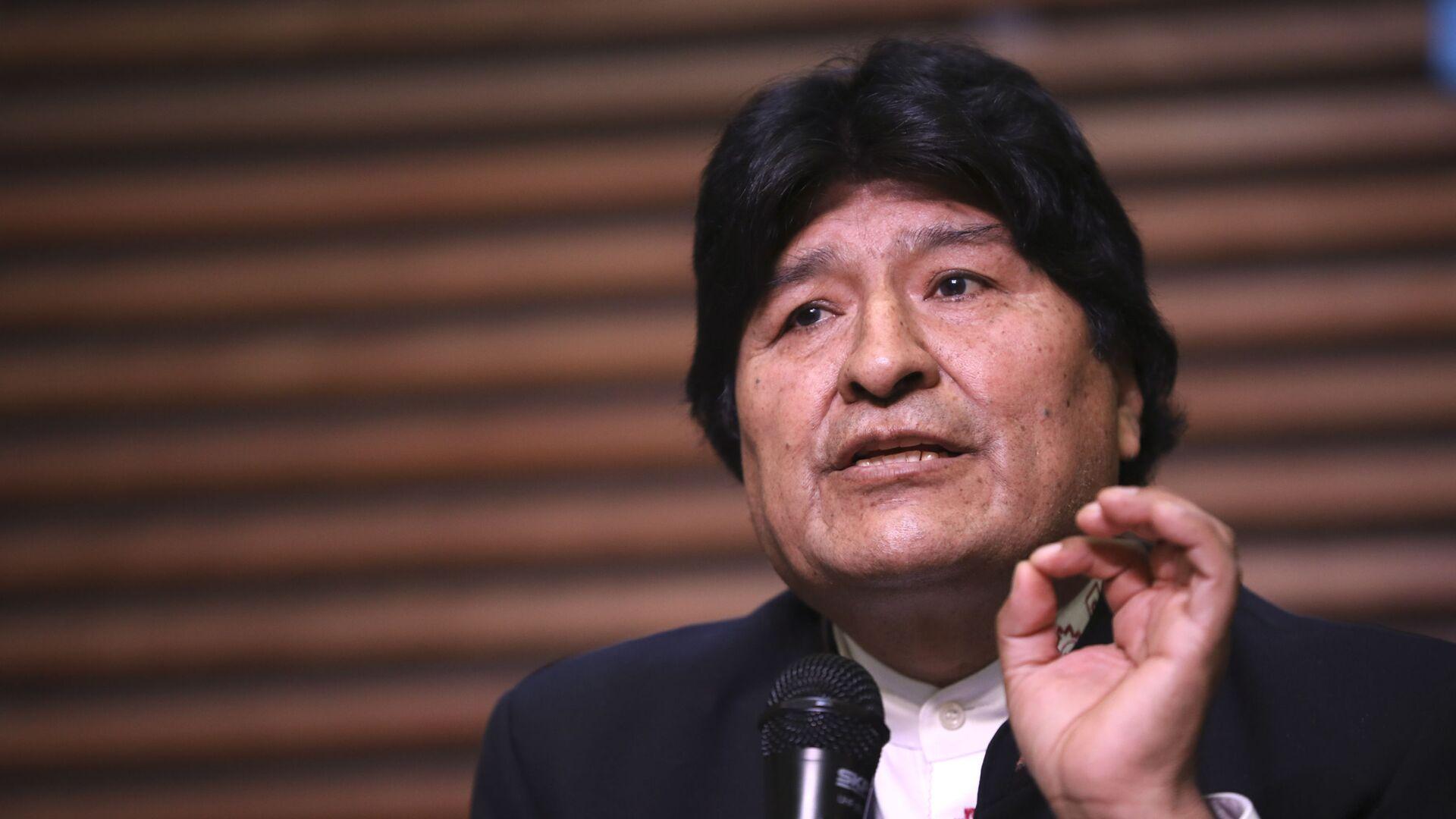 Evo Morales, expresidente boliviano - Sputnik Mundo, 1920, 21.04.2021