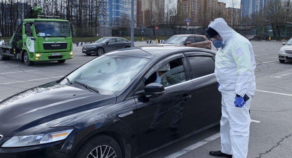 Detención de un moscovita que violó la cuarentena