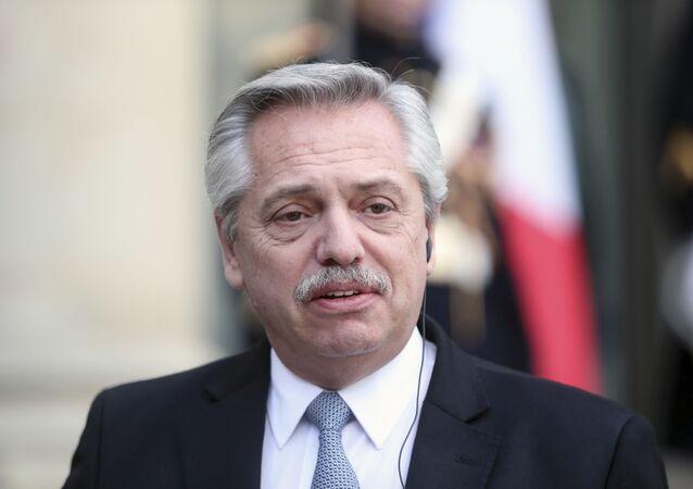 Alberto Fernández, presidente de Argentina (archivo)