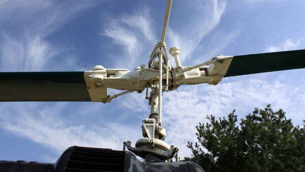 Rotor de helicóptero - Sputnik Mundo