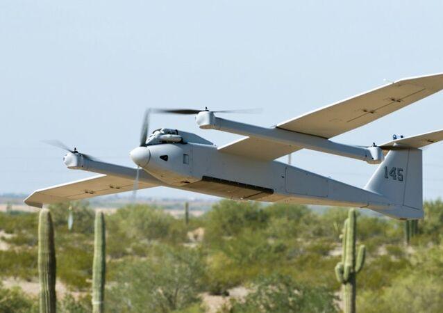 El dron estadounidense Arcturus UAV JUMP 20