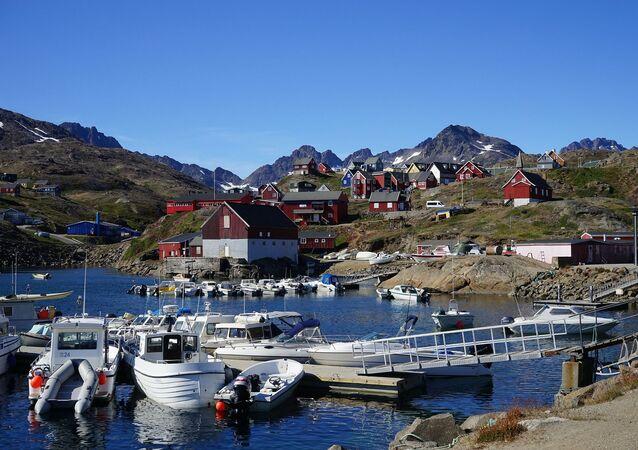 Groenlandia, referencial