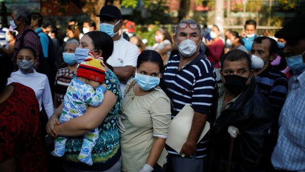 Salvadoreños en tiempos del coronavirus - Sputnik Mundo