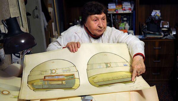 Galina Balashova, la primera arquitecta espacial de la URSS - Sputnik Mundo