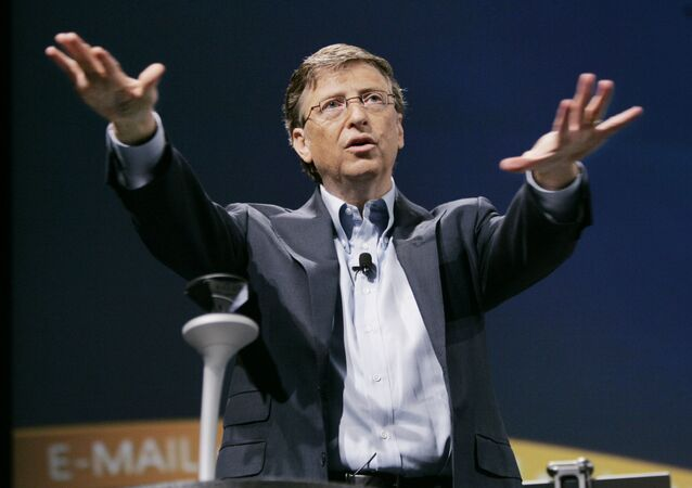 Bill Gates, fundador de Microsoft