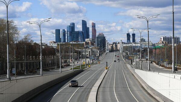 Moscú durante la cuarentena por COVID-19 - Sputnik Mundo