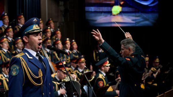 Un concierto del conjunto Alexándrov (archivo) - Sputnik Mundo