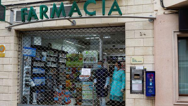 Una farmacia en España (imagen referencial) - Sputnik Mundo
