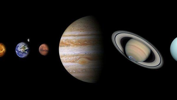 Planetas (imagen referencial) - Sputnik Mundo