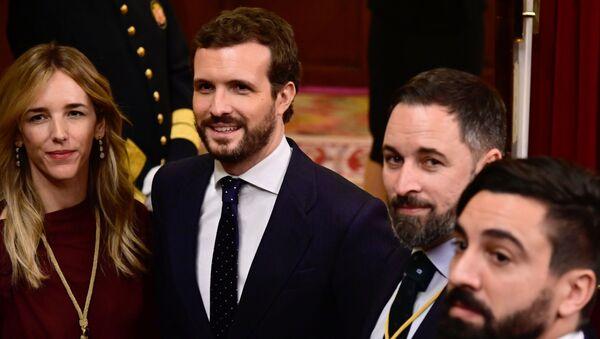 Oposición en España - Sputnik Mundo
