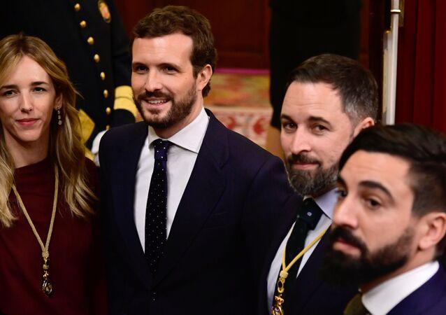Dirigentes opositores España