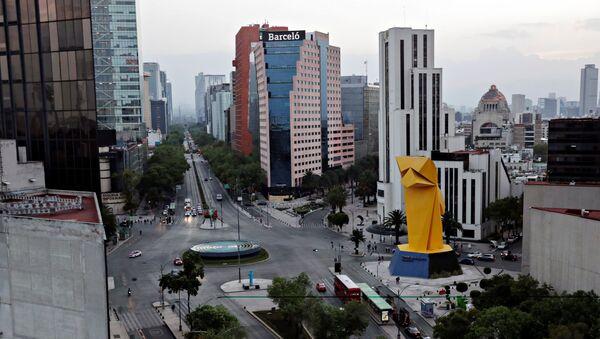 Ciudad de México se ve vacía por la pandemia del nuevo coronavirus - Sputnik Mundo