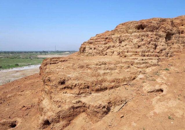Una pared sumeria (imagen referencial)